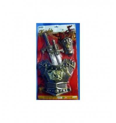2 armor medieval swords 393834 Grandi giochi- Futurartshop.com