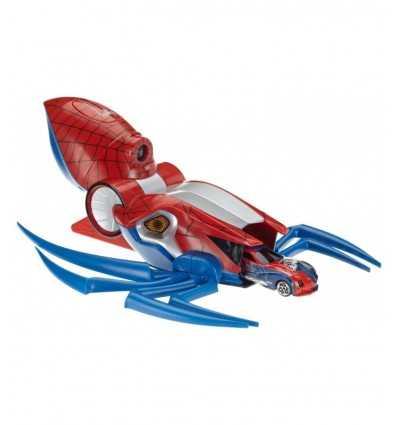 Majorette 213089715-Spider-Man pichet avec projecteur et 1 voiture 213089715 Simba Toys- Futurartshop.com
