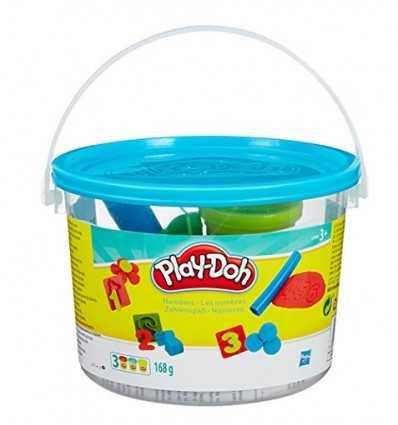 Playdoh Mini secchielli numeri 234141864/23326 Hasbro-Futurartshop.com
