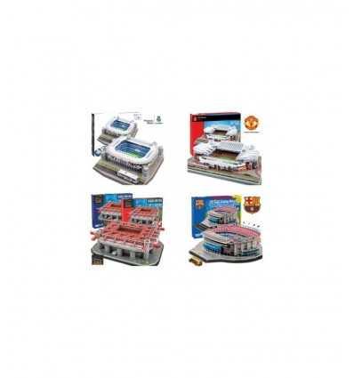 Pussel 3D modeller 6 Stadium HDG70104 Giochi Preziosi- Futurartshop.com