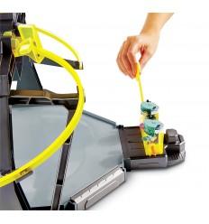Schoolpack en Power Ranger med ruta 3 zip