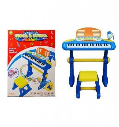 pianola con sgabello luci e suoni Mazzeo-Futurartshop.com