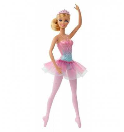 Mattel Barbie rosa Kleid mit Ballerina-BCP11-BCP12 BCP12 Mattel- Futurartshop.com