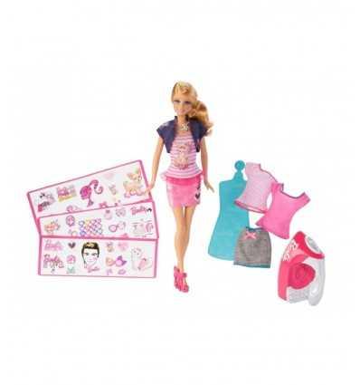 BDB32-Barbie Barbie Fashion koszulka BDB32 Mattel- Futurartshop.com
