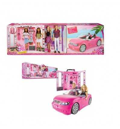 Barbie dress up and go! Barbie-ken-dream glam-car wardrobe CNC16 Mattel- Futurartshop.com