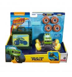 Fisher price robot amarillo rollos y gattona ritmo y luces