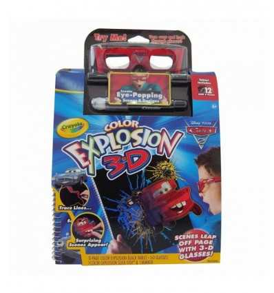 Автомобили Disney Crayola 3D цветовой взрыв 1654 Crayola- Futurartshop.com