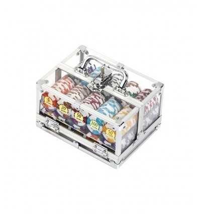 Dal Negro-400 jetons, boîte en aluminium, 14,5 g 02422 Dal Negro- Futurartshop.com