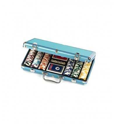 Dal Negro - Portafiches Alluminio Blu, 300 Pezzi, 14.5 gr 002452 Dal Negro-Futurartshop.com