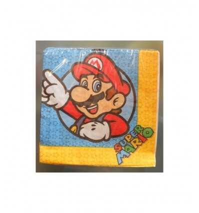 Super Mario nowe serwetki 16 Strona CMG205008 CMG205008 Como Giochi - Futurartshop.com