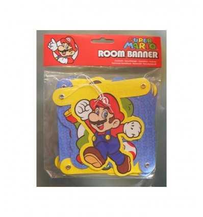 Super Mario New Party Flags CMG205053 CMG205053 Como Giochi - Futurartshop.com