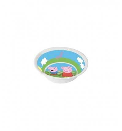 Peppa Pig melamin tallrik 14 cm CMG123171 Como Giochi - Futurartshop.com