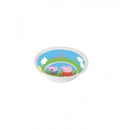 Peppa Pig melamine plate 14 cm CMG123171 Como Giochi - Futurartshop.com