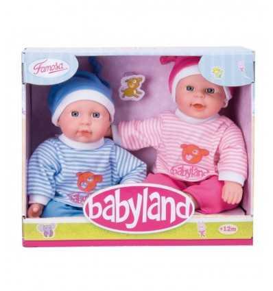 Baby Land Twins 30 cm 700008969 Famosa- Futurartshop.com