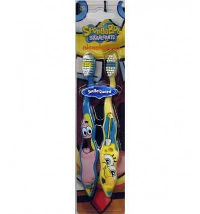 Spongebob toothbrushes pair 940555 Grandi giochi- Futurartshop.com