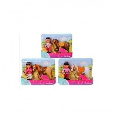 Evi Love con Pony 105737464 Simba Toys- Futurartshop.com
