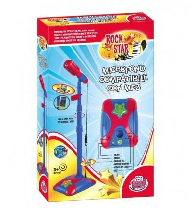 Boom microphone with mp3 and lights GG62501 Grandi giochi- Futurartshop.com
