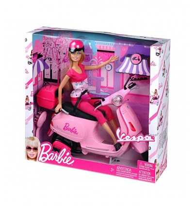 Barbie mit Vespa neu P6560 Mattel- Futurartshop.com
