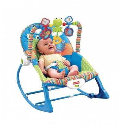 Seggiolino Dondolino della Ranocchia Y8185 Mattel-Futurartshop.com