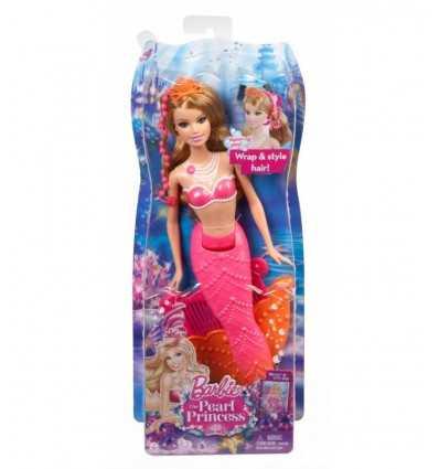 Барби Принцесса Русалка жемчужина Коралл BDB49 Mattel- Futurartshop.com