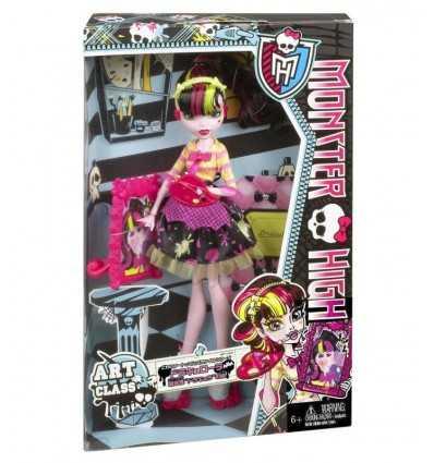 Монстр высокой Draculaura Mostrusa искусства урок BDF12 Mattel- Futurartshop.com