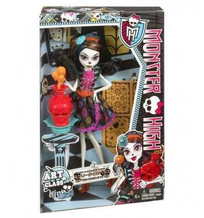 モンスター高 Mostrusa アート Skelita レッスン カラベラス BDF14 Mattel- Futurartshop.com