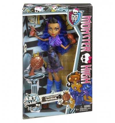 Monster High Art Mostrusa lección Rebecca Steam BDD79 Mattel- Futurartshop.com