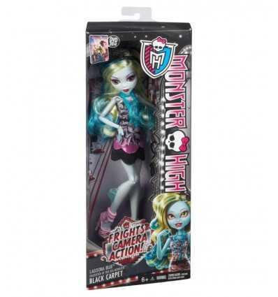 モンスター高恐怖、カメラ、アクション !黒いカーペット ラグーナ ブルー BDF24 Mattel- Futurartshop.com