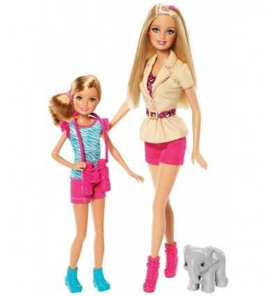 Barbie y las hermanas de Barbie y Stacie Safari BDG25 Mattel- Futurartshop.com