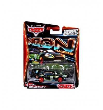 Автомобили автомобиля Неоновая Найджел Gearsley CBG13 Mattel- Futurartshop.com