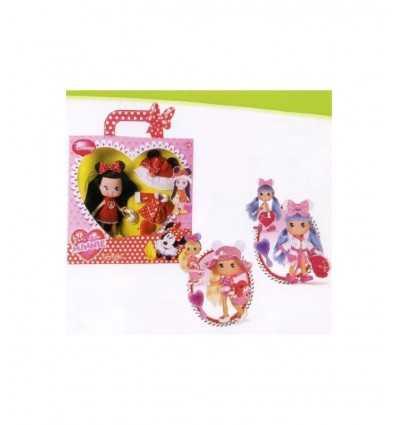Jag älskar Minnie docka kläder och tillbehör GG8512 Grandi giochi- Futurartshop.com