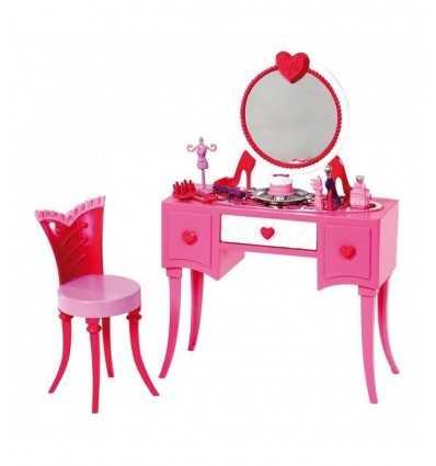 Basic furniture Barbie mirror and Chair X7940 Mattel- Futurartshop.com