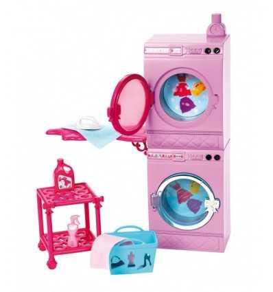Barbie, Arredamenti Basic con lavatrice e tavolo da stiro X7938 Mattel-Futurartshop.com