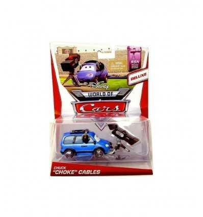 Disney cars 2, Chuck Choke Cables BDW69 Mattel- Futurartshop.com