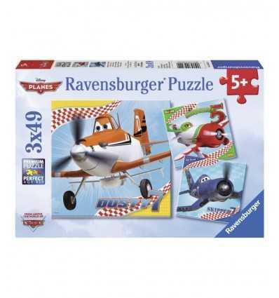 puzzles 3 x 49, plans de disney 09322 Ravensburger- Futurartshop.com
