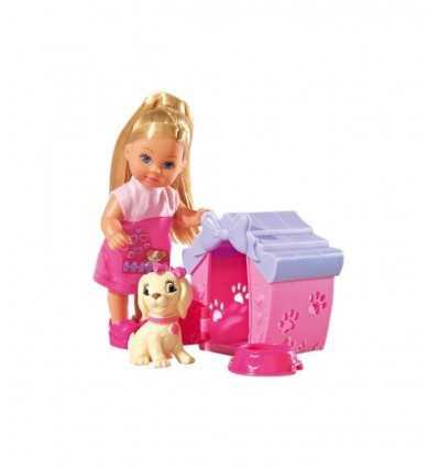 Evi Love con Cagnolina e Cuccia 105735867 Simba Toys- Futurartshop.com