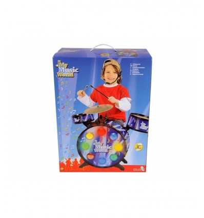 Batteria con luci e suoni 106834988 Simba Toys- Futurartshop.com