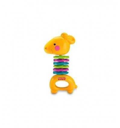 Погремушка Жираф краб P7867 Mattel- Futurartshop.com
