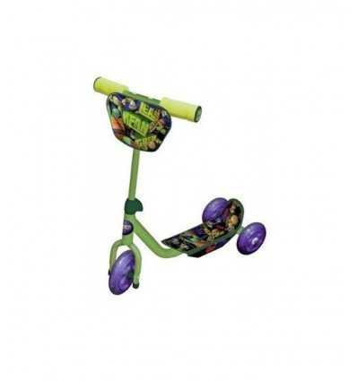 Scooter 3 ruote Tartarughe Ninja 7482 Linea Paggio- Futurartshop.com
