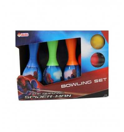 Set bowling Spiderman DE1599 Linea Paggio- Futurartshop.com