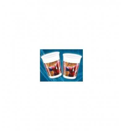 Bicchieri di plastica, Spiderman 8 pz 200 ml CMG82950 Como Giochi - Futurartshop.com