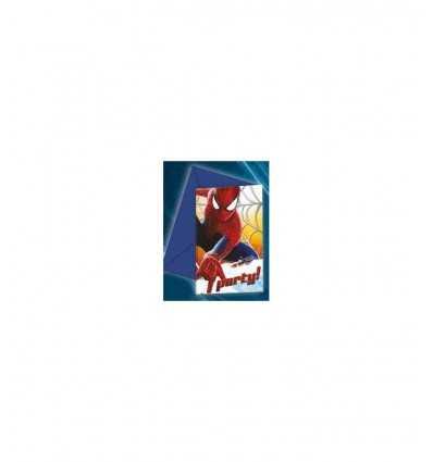 Invito con busta 6 biglietti , Spiderman CMG82946 Como Giochi - Futurartshop.com