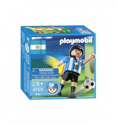 Joueur de football Argentine 4705 Playmobil- Futurartshop.com