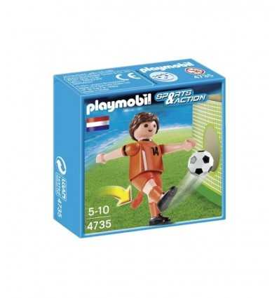Footballeur néerlandais. 4735 Playmobil- Futurartshop.com