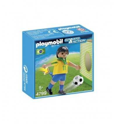 ブラジルのサッカー選手 4799 Playmobil- Futurartshop.com