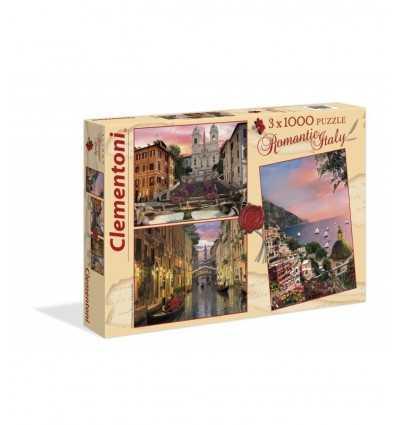 Puzzle romantique Italie 08005 Clementoni- Futurartshop.com
