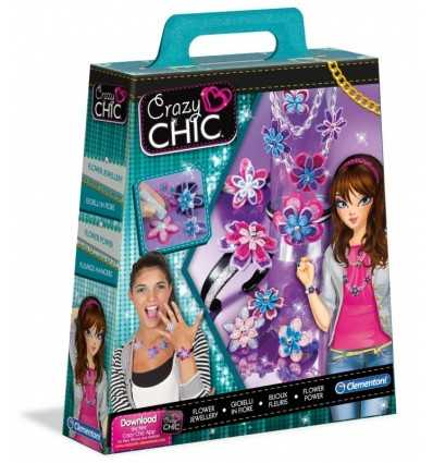 Crazy Chic Gioielli flower Power 15957 Clementoni-Futurartshop.com