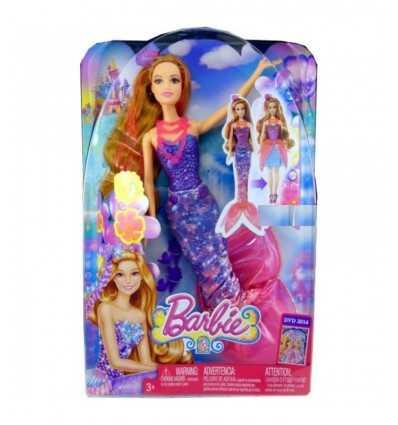 Mattel Barbie mit lila Schwanz BLP25 Mattel- Futurartshop.com