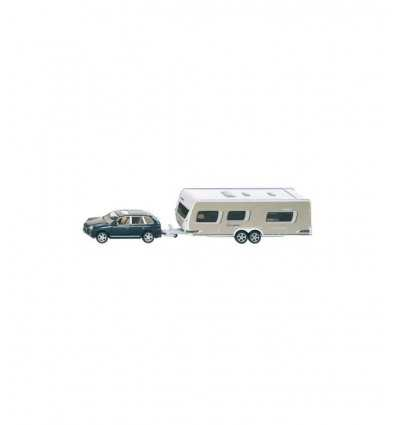 Siku samochód z Caravan 1:55 SIKU2542 Siku- Futurartshop.com