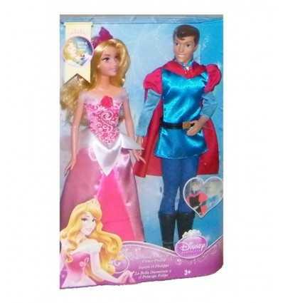 Mattel Aurora i książę Phillip BMB71 Mattel- Futurartshop.com